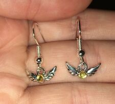 Adorable Tiny Golden Snitch Earrings Gift For Fan Of Harry Potter Books Jewelry