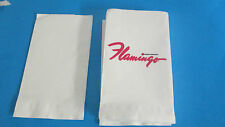 THE FLAMINGO- FOREVER FABULOUS LAS VEGAS STRIP LARGE NAPKINS(25) PER PACK
