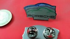Porsche Silhouette Pin Badge