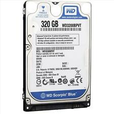 "Western Digital wd3200bpvt 320 GB a 5400 RPM de 2,5 ""disco duro SATA"