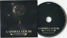 Gabriella Cilmi - cd-PROMO - SYMMETRY © 2013 - UK-1-Track-CD funk soul POP