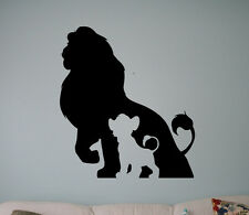 Lion King Vinyl Decal Disney Cartoons Vinyl Stickers Home Interior Kids Room 3