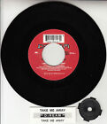 "D:REAM Take Me Away (DREAM) 7"" 45 rpm vinyl record + juke box title strip RARE!"