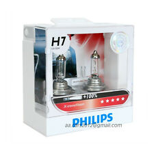 GENUINE PHILIPS H7 X-treme Xtreme Vision +100% +35m beam bulbs