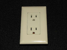 Mobile Home RV Parts Self Contained Outlet Includes Cover Plate Almond