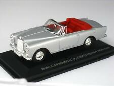 BENTLEY S2 CONTINENTAL DHC CONVERTIBLE PARK WARD YATMING 43214 1:43 NEW SILVER