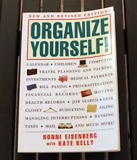 """Organise Yourself"" by Ronni Eisnberg and Kate Kelly, Paperback"