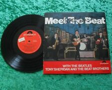 "10"" LP Tony Sheridan - Meet the Beat 1965 (mit original Autogramm) Beatles"