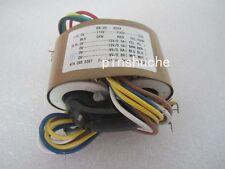 1PCS 30W R-CORE TRANSFORMER for preamp 115V 230V OUTPUT:9V+9V 15V+15V