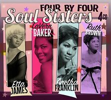Soul Sisters - Etta James, Aretha Franklin, LaVern Baker, Ruth Brown 4CD Box Set