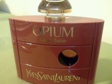 OPIUM YVES SAINT LAURENT EAU DE TOILETTE 4OZ,120ml. Made in France ALMOST FULL