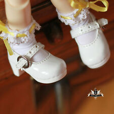Yosd 1/6 BJD Shoes Dollfie DIM Lolita white Shoes Luts AOD DOD SOOM MID Dollmore