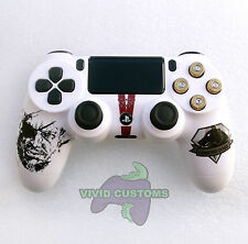 Custom Modified Playstation 4 Dualshock Wireless PS4 Controller - Metal Gear