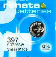 397 RENATA SR726SW D397 Watch Battery Free Shipping Authorized Seller