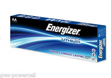 30 x Energizer Lithium Batterie AA Mignon LR6 FR6 MP3 Photo 1,5 V lose L91