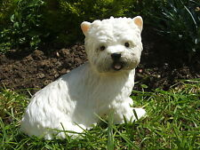 CUTE SCOTTIE DOG GARDEN ORNAMENT. LATEX MOULD/MOULDS/MOLD