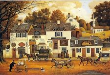 Charles Wysocki OLDE CAPE COD, Nantucket, Martha's Vineyard, art print #78/2500