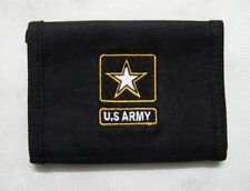 New US Army Style Wallet Black--Airsoft