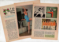 T1 Clipping-Ritaglio del 1977 Loredana Venchi