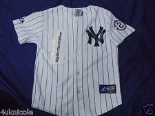 Majestic New York NY Yankees Jeter Baseball MLB Jersey Captain Youth Child