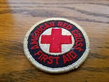 AMERICAN RED CROSS FIRST AID PATCH