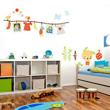 Cartoon Bear Wall Sticker Removable Art Vinyl Decal Kids Home Nursery Room Decor