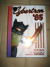 NEW 2015 SDCC KREO Transformers Cybertron Class of '85 Yearbook Set KREON