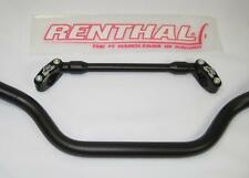 RENTHAL ROAD HANDLEBAR BRACE and CLAMP SET, ANODISED BLACK