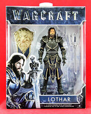 "Lothar Warcraft Movie 6"" Action Figure World of Warcraft Jakks Pacific Toy New"