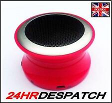 Brand New Pink Bluetooth Mini Speaker for BlackBerry Mobile Phone