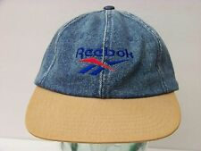 Vintage 90's Reebok Ocean Spray Denim Hat Adjustable Strapback Hat Cap
