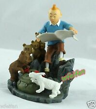 The Adventrues of Tintin with the SNOW DESTINATION MOON CHARACTER FIGUR withbox