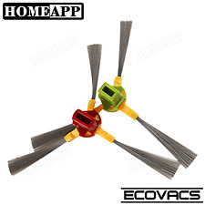 3 arm Side Brushes For Ecovacs DEEBOT CEN630 800 Series Robotic Vacuum Cleaner