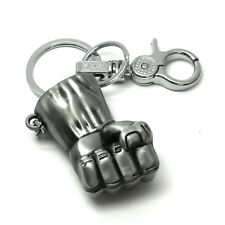 Hulk Metal Punch Locking Keychain Avengers Marvel Collectible Key Chain