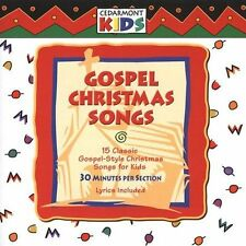 Cedarmont Kids: Gospel Christmas Songs  Audio CD