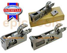 FAITHFULL 3-in-1 Wood Shoulder Bullnose Rebate Chisel Hand Plane, FAIPLANEBULL