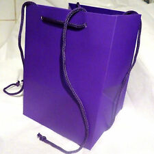 Floristry Hand Tied Flower Bouquet Gift Bag presentation Purple best quality x 2