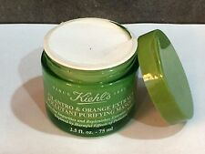 KIEHL'S CILANTRO & ORANGE EXTRACT MASQUE MASK 2.5 oz DAMAGED CAP/SEAL