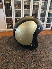 Vintage Shoei Metalflake Motorcycle Helmet NOS L/XL