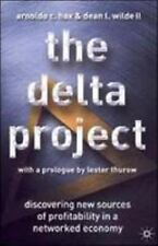 Arnoldo C. Hax~THE DELTA PROJECT~SIGNED 1ST(4)/DJ~NICE COPY