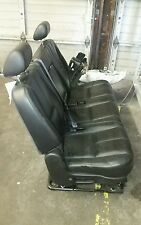 2007-2014 Yukon XL, Suburban or ESCALADE ESV 2ND ROW BLACK EBONY BENCH SEAT