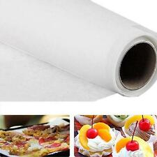 5M Parchment Paper Silicone Mat Baking Pad Roll Wax Non Stick Kitchen Tool White