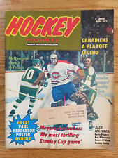 Hockey Pictorial April 1973 KEN DRYDEN MONTREAL CANADIENS Magazine