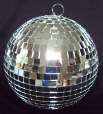 """Real Glass Mirror 8"""" DISCO BALL Great for Kid's Party EUC"""