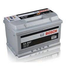 BATTERIA ORIGINALE BOSCH S5007 74AH = 80AH PER AUTO GOLF V 1.9 TDI 2.0 TDI
