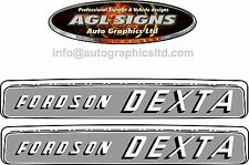 FORDSON DEXTA TRACTOR DECAL SET, reprocduction