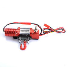 RC 1/10 Truck ELECTRIC WINCH FOR Rock Crawler RC4WD D90 SCX10 HSP W/ SWITCH 1:10