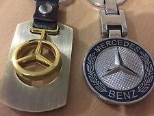 2 Mercedes Acabado en Cromo tapones de neumáticos que empareja Llaveros y S e c una clase GL ML