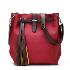 Women Ladies Handbag Shoulder Bag PU Leather Messenger Hobo Bag Satchel Tote