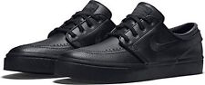 NIB Nike Mens SB Zoom STEFAN JANOSKI Leather Shoe's 616490 Black 10 Msrp $90.00